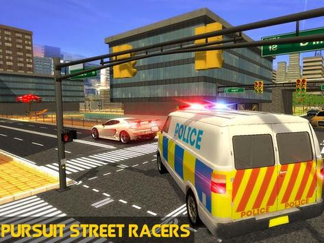 Police Mini Bus Crime Pursuit screenshot 4