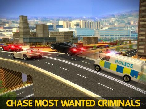 Police Mini Bus Crime Pursuit screenshot 5