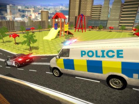 Police Mini Bus Crime Pursuit screenshot 8