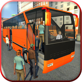 City Bus Simulator 3d 2018: Coach Bus Driving game आइकन