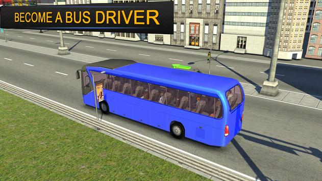City Bus Simulator 3d 2018: Coach Bus Driving game स्क्रीनशॉट 14