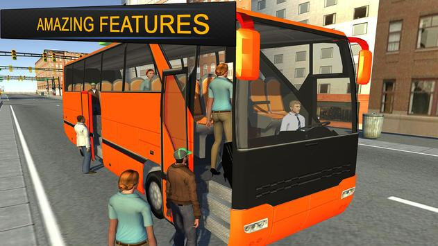 City Bus Simulator 3d 2018: Coach Bus Driving game स्क्रीनशॉट 10