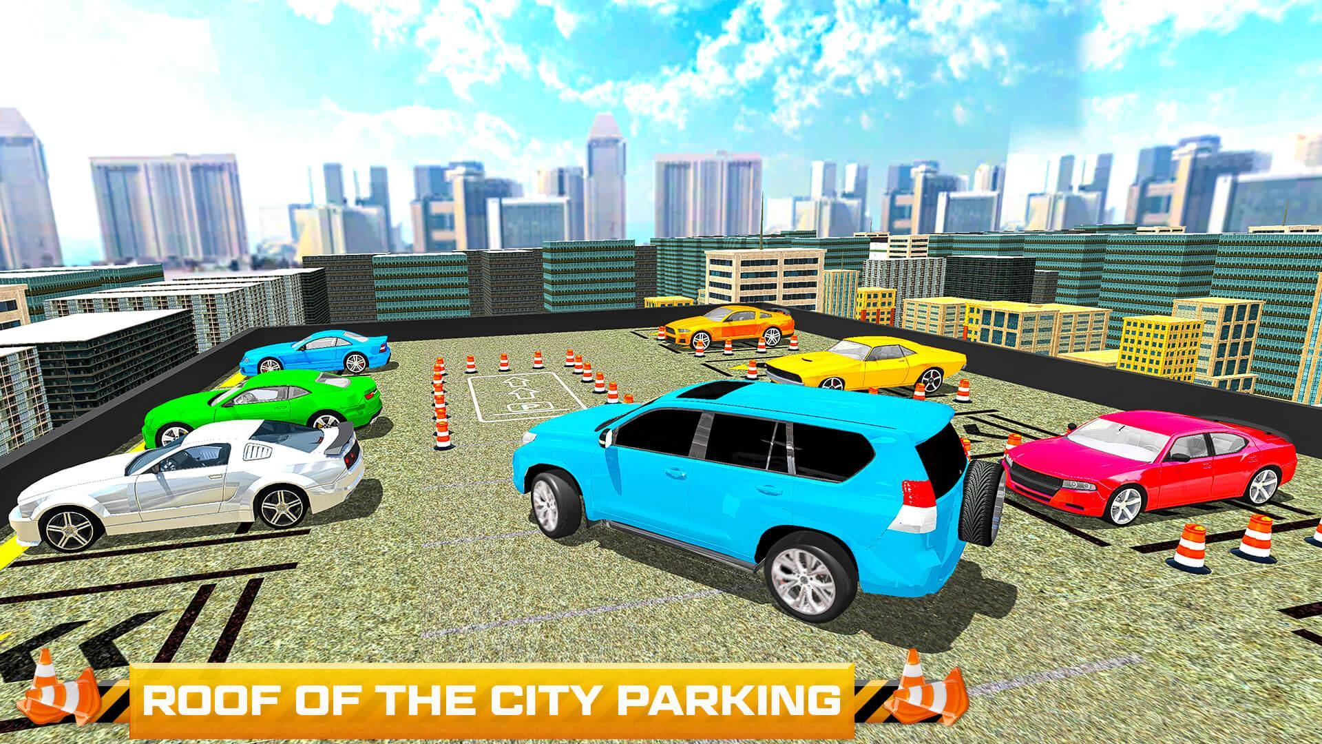 City Modern Car Parking Prado Drive 2017 For Android Apk Download