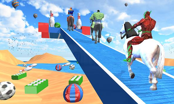 Fantastic Superhero Horse Riding: Wild Horse Games poster
