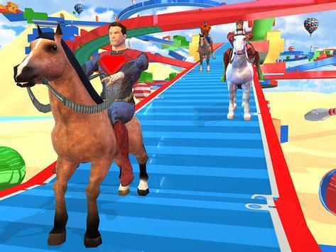 Fantastic Superhero Horse Riding: Wild Horse Games screenshot 12