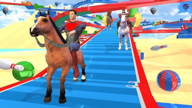 Fantastic Superhero Horse Riding: Wild Horse Games screenshot 7