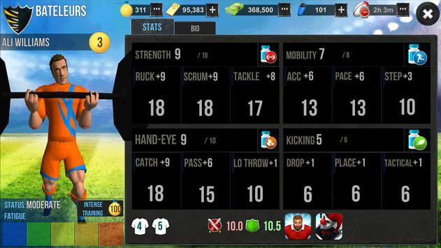 Rugby Wars screenshot 1