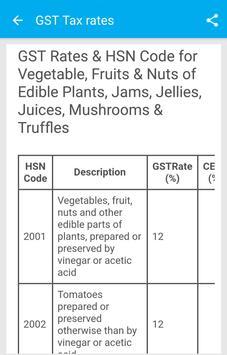 GST Help Guide India – GST Bill Rates Percentage+ screenshot 2