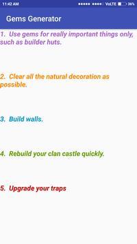 5 Schermata Gems Calc for  Clash of Clans