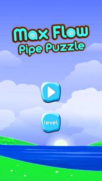 Max Flow Pipe Puzzle poster
