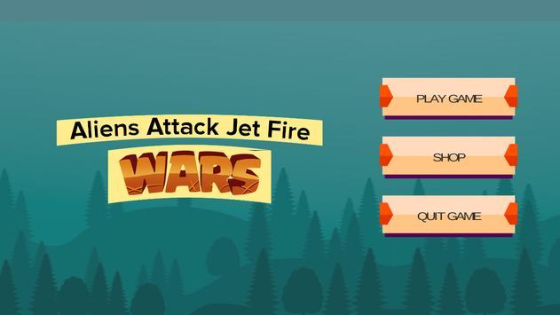 Alien Attack Jet Fire Wars apk screenshot