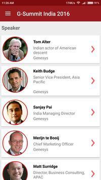 G-Summit India 2016 apk screenshot