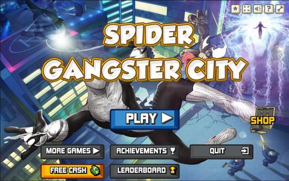 Spider Gangster City poster