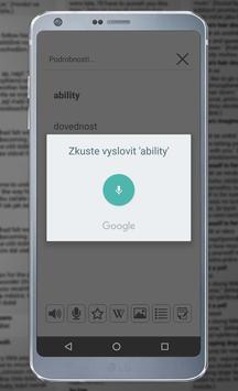 Real Czech-English Dictionary apk screenshot