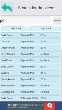 Game Database(Monster Hunter World) screenshot 4