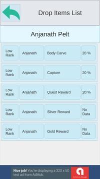 Game Database(Monster Hunter World) screenshot 5