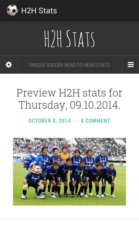 H2H STATS for Android - APK Download