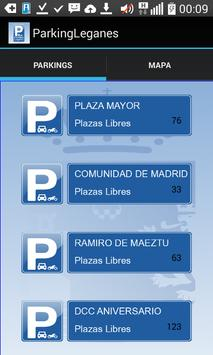 Parkings de Leganés apk screenshot