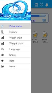 Water Drink Tracker (H2O) poster