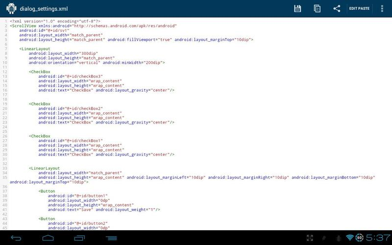 DroidPaste for Pastebin for Android - APK Download