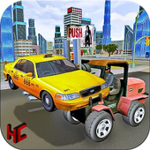 Police Forklift Car Simulator icon
