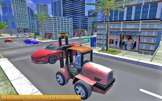 Police Forklift Car Simulator apk screenshot