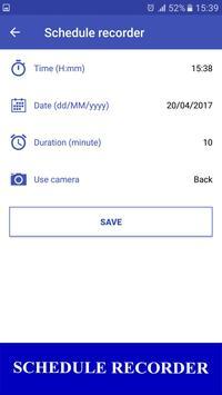 Secret Video Recorder HD apk screenshot
