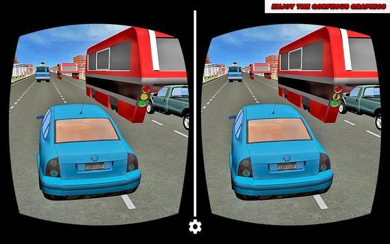 VR Crazy Car City Racing poster