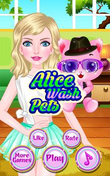 Pets Caring - Kids Games poster