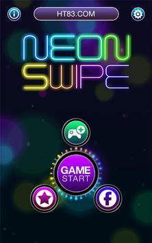 Neon Swipe: Pattern Lock Hack poster