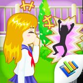 School Flirting icon