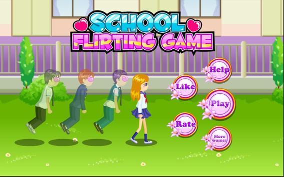 School Flirting poster