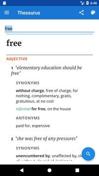 Oxford Advanced Dictionary apk screenshot