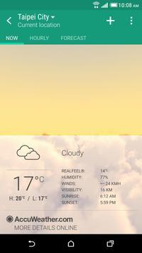 Cuaca HTC poster
