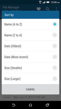 HTC File Manager screenshot 3