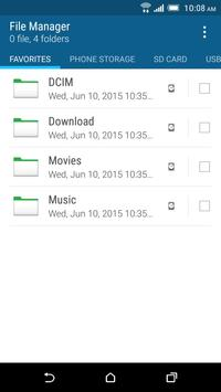 HTC File Manager poster