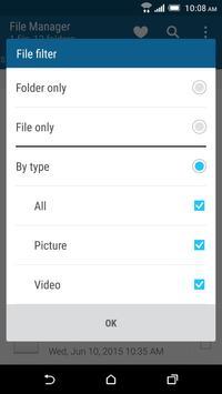 HTC File Manager screenshot 2