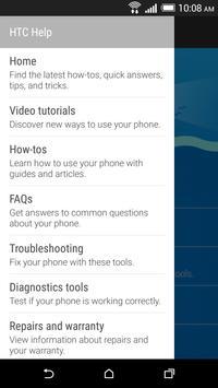 HTC Help apk screenshot