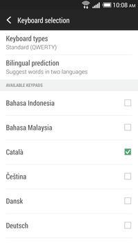 HTC Sense Input-CA screenshot 1