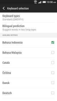 HTC Sense Input-ID screenshot 1