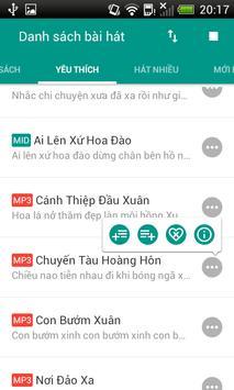 eKaraoke List apk screenshot
