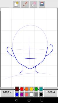 How to Draw Anime Faces screenshot 1