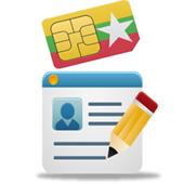 Myanmar All Sim Card Register icon