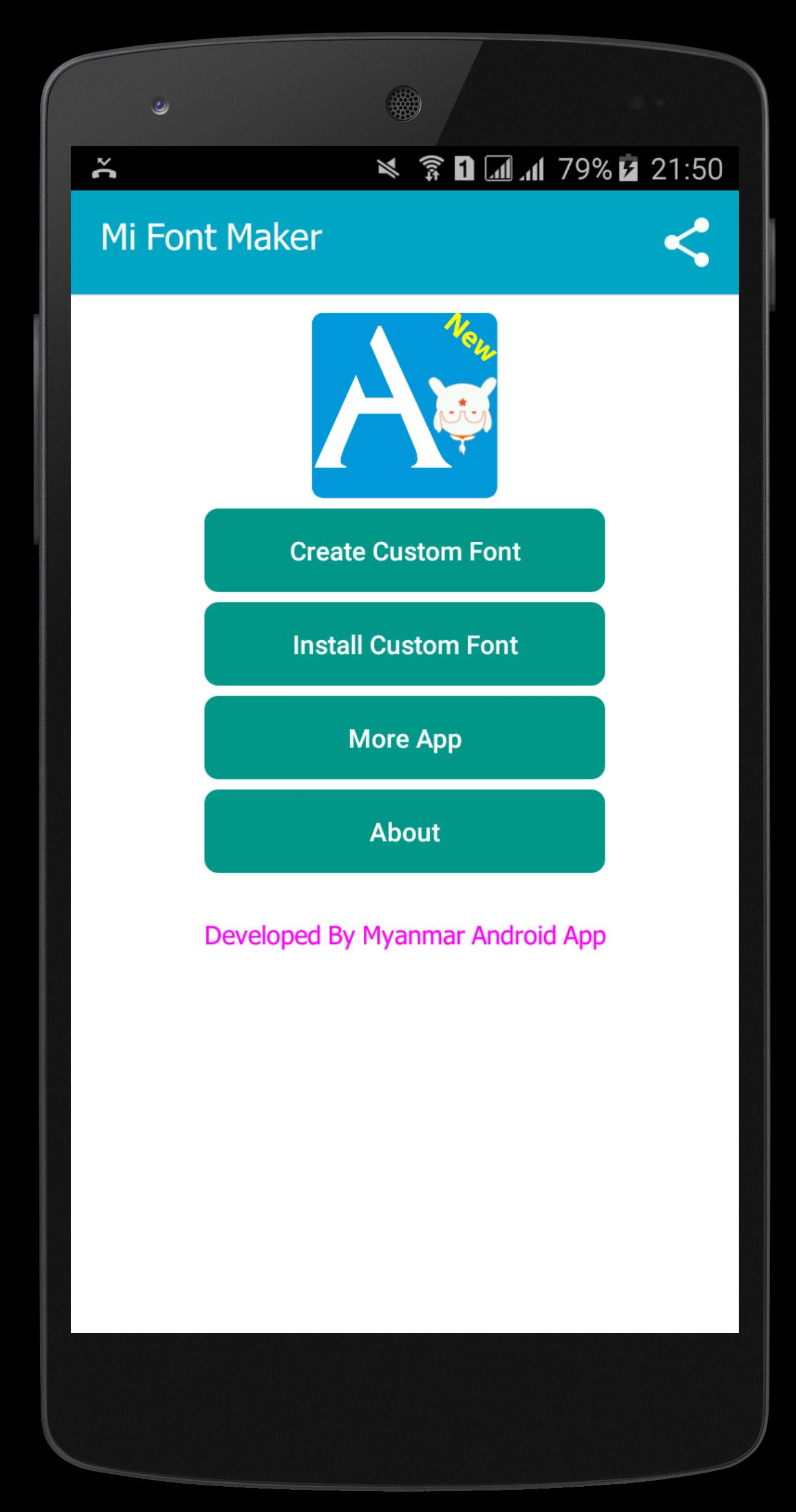 MIUI Font Maker(Font2MTZ) for Android - APK Download