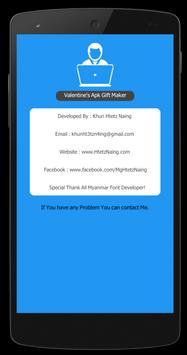 Valentine's - Apk Gift Maker screenshot 7