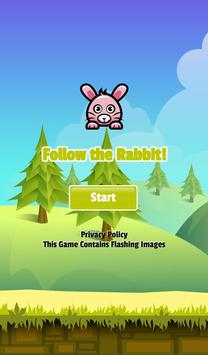 Follow the Rabbit Memory Game poster