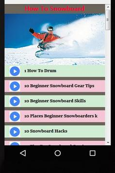 How to Snowboard Guide Videos poster
