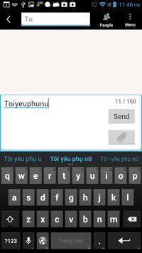 Sophia Vietnamese IME apk screenshot