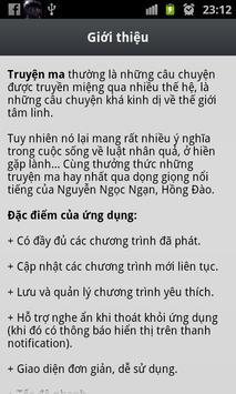 Truyện Ma Nguyễn Ngọc Ngạn Có thật apk screenshot