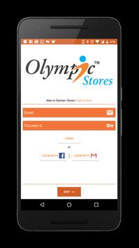 Olympic Stores poster